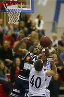 Basketball, BLNO, Kongsberg Penguins - Kristiansand Pirates. Darnell McCulloch, Kongsberg.