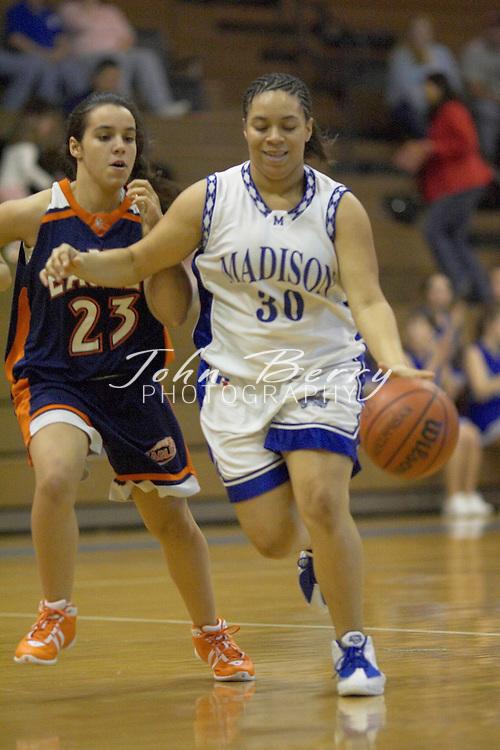 JV Girls Basketball..vs Clarke..January 13, 2005