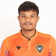 THAILAND - JUNE 25: Jakkit Niyomsuk #30 of Nakhonratchasrima Mazda FC on June 25, 2019.<br /> .<br /> .<br /> .<br /> (Photo by: Naratip Golf Srisupab/SEALs Sports Images/MB Media Solutions)