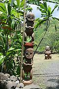 Marae (temple) Arahurhu, Island of Tahiti, French Polynesia<br />