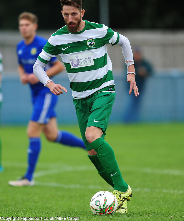 GREG LING  NEWPORT PAGNELL FC, Peterborough Sports FC v Newport Pagnell FC Ucl Premier Division League Saturday 17th September 2016 Score 3-1<br /> Photo:Mike Capps
