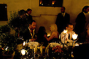 TOM FORD; DONATELLA VERSACE, Luomo Vogue 40th Anniversary dinner. Palazzo Litta. Milan. 22 June 2008 *** Local Caption *** -DO NOT ARCHIVE-© Copyright Photograph by Dafydd Jones. 248 Clapham Rd. London SW9 0PZ. Tel 0207 820 0771. www.dafjones.com.