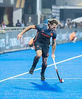 BHUBANESWAR, INDIA - Bob de Voogd (Ned)  tijdens   de  finale tussen België en Nederland (0-0) bij het WK Hockey heren in het Kalinga Stadion. Belgie wint na shoot-outs. COPYRIGHT KOEN SUYK