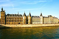 la Conciergerie Paris la seine  riverside france