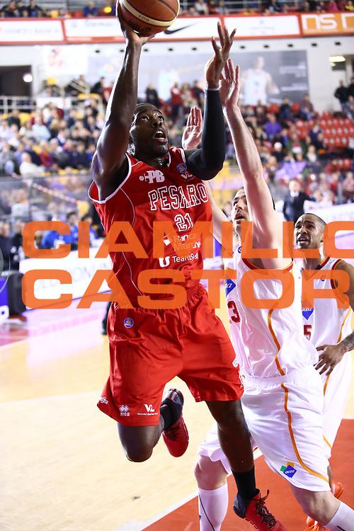 DESCRIZIONE : Roma Lega A 2013-2014 Acea Roma Victoria Libertas Pesaro<br /> GIOCATORE : Anosike OD<br /> CATEGORIA : tiro sequenza<br /> SQUADRA : Victoria Libertas Pesaro<br /> EVENTO : Campionato Lega A 2013-2014<br /> GARA : Acea Roma Pasta Victoria Libertas Pesaro<br /> DATA : 22/03/2014<br /> SPORT : Pallacanestro <br /> AUTORE : Agenzia Ciamillo-Castoria/M.Simoni<br /> Galleria : Lega Basket A 2013-2014  <br /> Fotonotizia : Roma Lega A 2013-2014 Acea Roma Victoria Libertas Pesaro<br /> Predefinita :