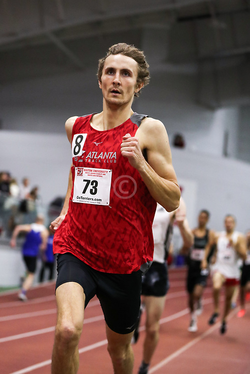 Bruce LeHane Scarlet and White<br /> Indoor Track & Field<br /> men 800m Atlanta TC, Dylan Capwell