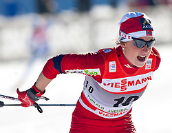 05.01.2011, Nordic Arena, Toblach, ITA, FIS Cross Country, Tour de Ski, Qualifikation Sprint Women and Men, im Bild Marthe Kristoffersen (NOR, #10). EXPA Pictures © 2011, PhotoCredit: EXPA/ J. Groder