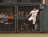 SAN FRANCISCO, CA - OCTOBER 7:  PLAYER # of the San Francisco Giants ACTION during GAME 4 of the NLDS against the Washington Nationals at AT&T Park on Tuesday, October 7, 2014 in San Francisco, California. (Photo by Jed Jacobsohn/MLB Photos via Getty Images) *** Local Caption *** PLAYER 1;PLAYER 2