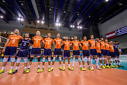 28-05-2017 NED: 2018 FIVB Volleyball World Championship qualification day 5, Apeldoorn<br /> Nederland - Slowakije / Nederland line up