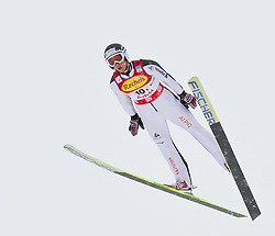 16.12.2011, Casino Arena, Seefeld, AUT, FIS Nordische Kombination, Ski Springen Team HS 109, im Bild Tim Hug (SUI) // Tim Hug of Switzerland during Ski jumping the team competition at FIS Nordic Combined World Cup in Sefeld, Austria on 20111211. EXPA Pictures © 2011, PhotoCredit: EXPA/ P.Rinderer