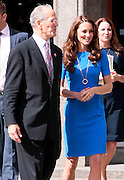 19.JULY.2012. LONDON<br /> <br /> KATE MIDDLETON THE DUCHESS OF CAMBRIDGE ATTENDS THE NATIONAL PORTRAIT GALLERY FOR THE BT ROAD TO 2012 EVENT.<br /> <br /> BYLINE: EDBIMAGEARCHIVE.CO.UK<br /> <br /> *THIS IMAGE IS STRICTLY FOR UK NEWSPAPERS AND MAGAZINES ONLY*<br /> *FOR WORLD WIDE SALES AND WEB USE PLEASE CONTACT EDBIMAGEARCHIVE - 0208 954 5968*