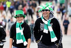 Plymouth Argyle fans arrive at Wembley - Mandatory by-line: Robbie Stephenson/JMP - 30/05/2016 - FOOTBALL - Wembley Stadium - London, England - AFC Wimbledon v Plymouth Argyle - Sky Bet League Two Play-off Final