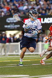 10 April 2010: North Carolina Tar Heels midfielder Jimmy Dunster (20) during a 7-5 loss to the Virginia Cavaliers at the New Meadowlands Stadium in the Meadowlands, NJ.