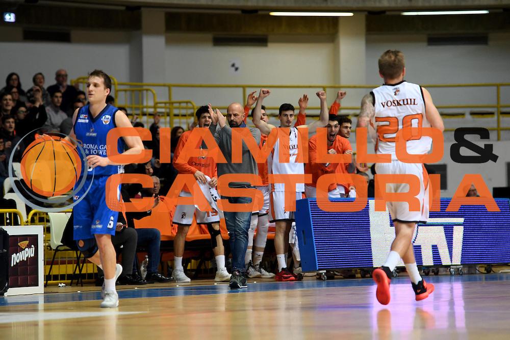 Viola Reggio Calabria<br /> Viola Reggio Calabria - Roma Gas &amp; Power Roma<br /> Campionato Basket LNP 2016/2017<br /> Reggio Calabria 26/02/2017<br /> Foto Ciamillo-Castoria