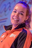 02-06-2015: Nieuws: Presentatie selectie Europese Spelen: Papendal<br /> <br /> (L-R) Wielrenster Anna van der Breggen<br /> <br /> European Games Team NL bestaat tijdens de eerste editie van het evenement in Baku uit 120 topsporters. Zij komen in totaal uit in zeventien sporten en nemen deel aan 24 disciplines. Chef de mission is Jeroen Bijl<br /> <br /> NOVUM COPYRIGHT / ORANGE PICTURES / GERTJAN KOOIJ
