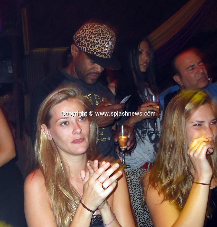 EXCLUSIVE: Celebrities are spotted celebrating in Marquee Nightclub.<br /><br />Pictured: Maxwell<br />Ref: SPL588506  140813   EXCLUSIVE<br />Picture by: CelebrityVibe / Splash News<br /><br />Splash News and Pictures<br />Los Angeles:310-821-2666<br />New York:212-619-2666<br />London:870-934-2666<br />photodesk@splashnews.com