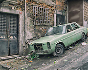 18/10/2013 - Istanbul - Tarlabasi area - Mercedes stolen five years ago. Never reported.