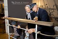 Utst&auml;llning om den svenska utvandringen till USA p&aring; the Swedish American Museum, Andersonville, Chicago, Illinois, USA<br /> <br /> Foto: Christina Sj&ouml;gren