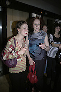 Mary Anne Harrington and Maggie O'Farrell, Waterstone's celebrate 25 Years in Books.  Waterstone's Piccadilly. London. 16 May 2007.  -DO NOT ARCHIVE-© Copyright Photograph by Dafydd Jones. 248 Clapham Rd. London SW9 0PZ. Tel 0207 820 0771. www.dafjones.com.