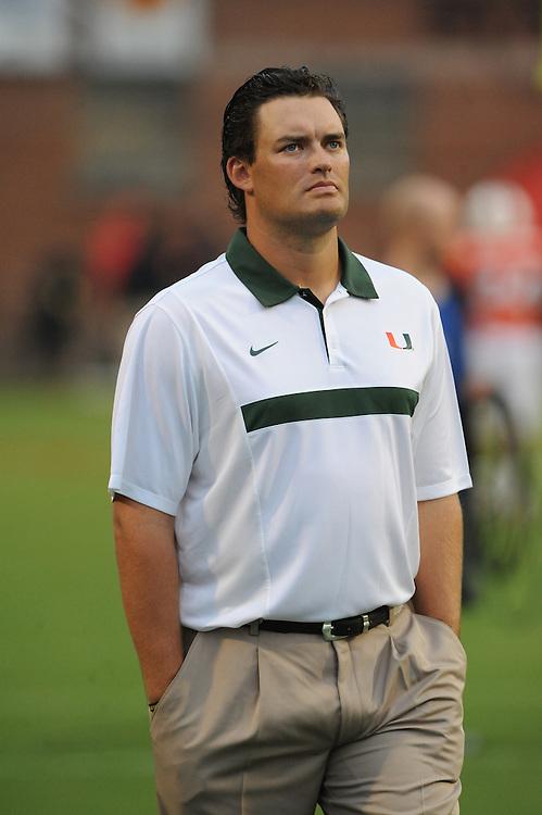 2011 Miami Hurricanes Football @ Maryland<br /> <br /> Brennan Carroll