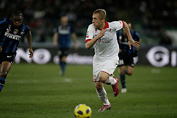 Bari (BA), 03-02-2011 ITALY - Italian Soccer Championship Day 23 - Bari VS Inter..Pictured: Glik (B).Photo by Giovanni Marino/OTNPhotos . Obligatory Credit