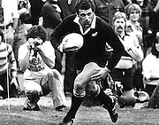Bill Osborne scores a try v Canada, 11 October 1980. Swangara Stadium, Vancouver, Canada. Photo: PHOTOSPORT/Peter Bush