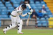 Tom Kohler-Cadmore of Yorkshire batting during the opening day of the Specsavers County Champ Div 1 match between Yorkshire County Cricket Club and Hampshire County Cricket Club at Headingley Stadium, Headingley, United Kingdom on 27 May 2019.