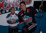 KELOWNA, CANADA - OCTOBER 04:  Pepsi Player of the game with Cal Foote #25 of the Kelowna Rockets at the Kelowna Rockets game on October 04, 2017 at Prospera Place in Kelowna, British Columbia, Canada.  (Photo By Cindy Rogers/Nyasa Photography,  *** Local Caption ***