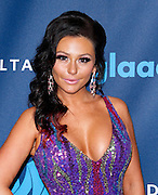 """Jennifer """"J Woww"""" Farley attends the 24th Annual GLAAD Media Awards at the Marriott Hotel in New York City, New York on March 16, 2013."""