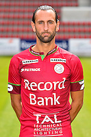 20150707 - WAREGEM, BELGIUM: Essevee's Ghislain Gimbert poses during the 2015-2016 season photo shoot of Belgian first league soccer team Zulte Waregem, Tuesday 07 July 2015 in Waregem. BELGA PHOTO LUC CLAESSEN