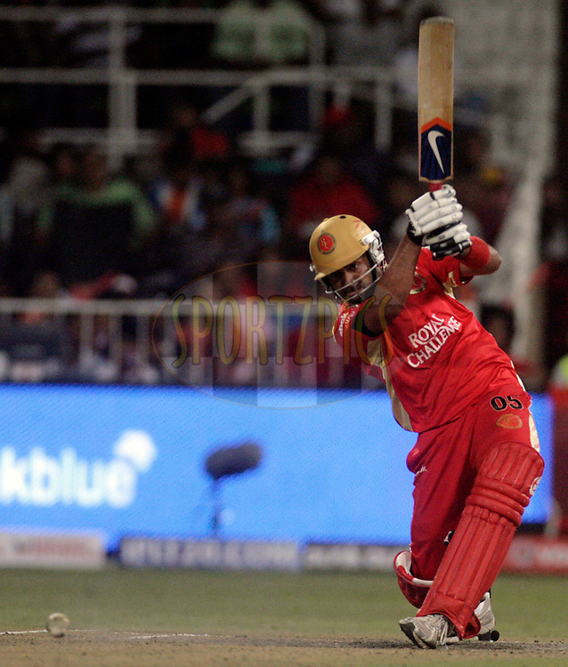 DURBAN, SOUTH AFRICA - 1 May 2009. Virat Kohli plays a shot during the IPL Season 2 match between Kings X1 Punjab and the Royal Challengers Bangalore held at Sahara Stadium Kingsmead, Durban, South Africa...
