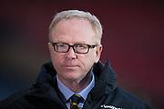 23rd March 2018, Hampden Park, Glasgow, Scotland; International Football Friendly, Scotland versus Costa Rica; Scotland national coach Alex McLeish