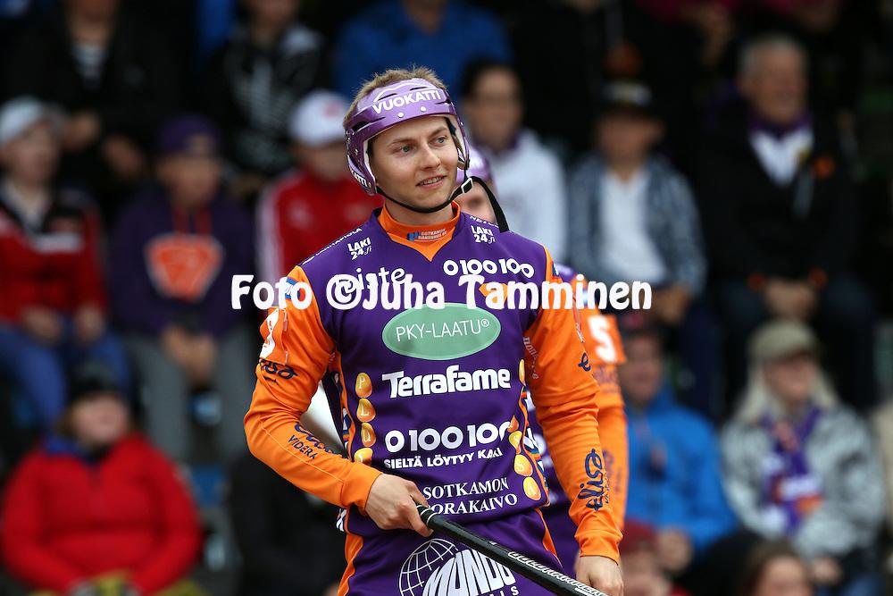 28.5.2016, Kaupin pes&auml;pallostadion, Tampere.<br /> Superpesis 2016.<br /> Sotkamon Jymy - Jyv&auml;skyl&auml;n Kiri.<br /> Janne Hyv&ouml;nen - Sotkamo