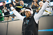 October 17, 2017: Carolina Panthers vs the Philadelphia Eagles. Cam Newton