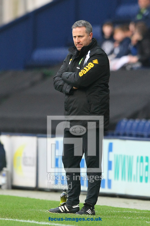 Norwich Manager Neil Adams during the FA Cup match at Deepdale, Preston<br /> Picture by Paul Chesterton/Focus Images Ltd +44 7904 640267<br /> 03/01/2015
