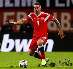 November 16, 2018 - Leipzig, Germany - Anton Zabolotny of Russia in action during the international friendly match between Germany and Russia on November 15, 2018 at Red Bull Arena in Leipzig, Germany. (Credit Image: © Mike Kireev/NurPhoto via ZUMA Press)