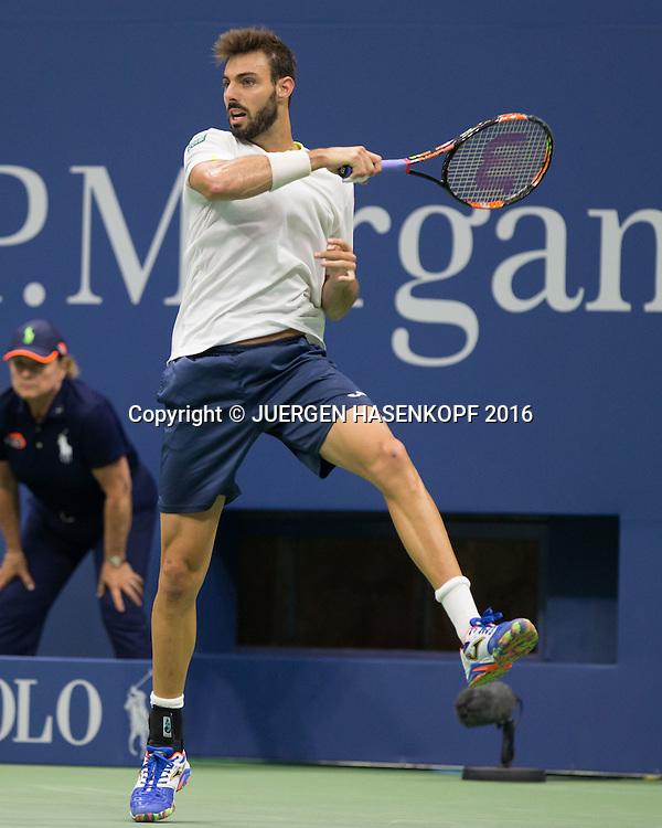 MARCEL GRANOLLERS (ESP)<br /> <br /> Tennis - US Open 2016 - Grand Slam ITF / ATP / WTA -  USTA Billie Jean King National Tennis Center - New York - New York - USA  - 1 September 2016.