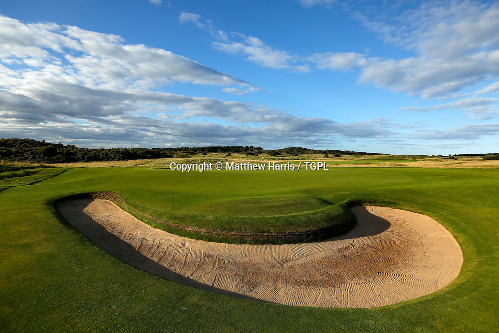 15th par 4 Muirfield,The Honourable Company Of Edinburgh Golfers,Gullane,East Lothian,Scotland.Venue for the 2013 Open Championship,with Ernie ELS (RSA) defending his title,and who was also the winner here in 2002.