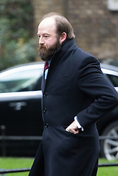 Downing Street, London, February 7th 2017. Strategic Advisor to the Prime Minister Nick Timothy arrives in Downing Street.