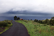 view on the west coast of la palma