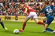 Joe Lolley of Nottingham Forest during the EFL Sky Bet Championship match between Nottingham Forest and Hull City at the City Ground, Nottingham, England on 23 October 2019.