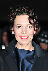 © Licensed to London News Pictures. 06/02/2012.  England. Olivia Colman attends the Evening Standard Film Awards at County Hall westminster London Photo credit : ALAN ROXBOROUGH/LNP