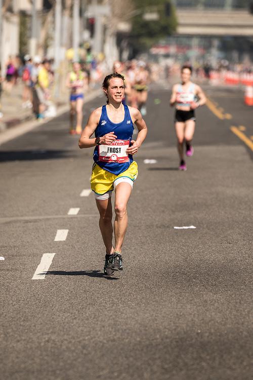 USA Olympic Team Trials Marathon 2016, Leah Frost, Crow