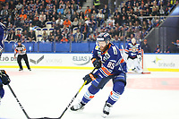 2018-09-22 | Växjö, Sweden: Växjö Lakers Liam Reddox (85) during the game between Växjö and Linköping at Vida Arena ( Photo by: Fredrik Sten | Swe Press Photo )<br /> <br /> Keywords: Ice hockey, Växjö, SHL, Linköping, Vida Arena, Ice hockey, Växjö, SHL, Växjö, Linköping, Vida Arena