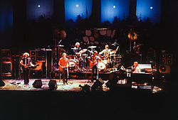 The Grateful Dead live at Radio City Music Hall, New York City. Performing at this historic venue on Sunday 26 October 1980.