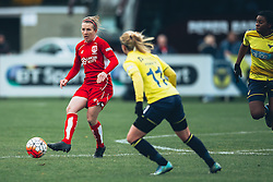 Frankie Brown of Bristol City Women - Rogan Thomson/JMP - 06/11/2016 - FOOTBALL - The Northcourt Stadium - Abingdon-on-Thames, England - Oxford United Women v Bristol City Women - FA Women's Super League 2.