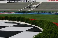 Dario Franchitti, Michigan IRL race Firestone Indy 400, Michigan International Speedway, Brookly, MI USA,7/30/2006