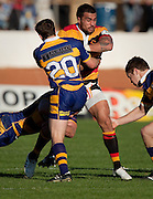 Waikato captain Liam Messam during the Air New Zealand Cup rugby match between Waikato and Bay of Plenty won by BOP 32-16 at Bay Park Stadium, Tauranga, New Zealand, Saturday 22 August 2009. Photo: Stephen Barker/PHOTOSPORT
