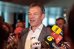 06.05.2018, Innsbruck, AUT, Bürgermeisterstichwahl Innsbruck, Wahlergebnis, im Bild Georg Willi (Die Grünen) // during the mayoral stitch election in Innsbruck, Austria on 2018/05/06. EXPA Pictures © 2018, PhotoCredit: EXPA/ Johann Groder