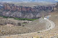 CUEVA DE LAS MANOS, CENTRO INTERPRETATIVO, CANADON DEL RIO PINTURAS, PROVINCIA DE SANTA CRUZ, PATAGONIA, ARGENTINA (PHOTO © MARCO GUOLI - ALL RIGHTS RESERVED)